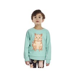 Reversible Sweatshirt Cat