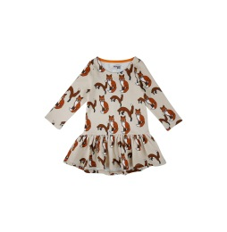 Dress Foxes AOP
