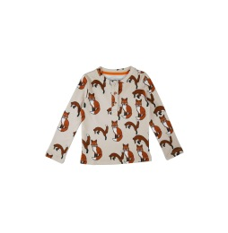Long Sleeve T-shirt Foxes