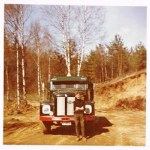 Scania 75 i grustag Hasse 1967