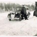 Taxibil Volvo Karl-Ivan 1942