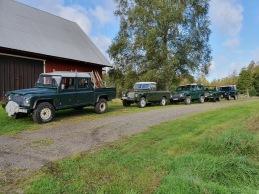 Vi använder bara Land Rover som jaktbilar
