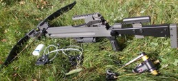 Armborst Ultimate-Sniper 440 samt tillbehöret som ingår i priset