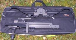 Ultimate-Sniper isärtagen på 1 minut till att rymmas i en någorlunda kompakt skyddsväska (ingår inte i priset).