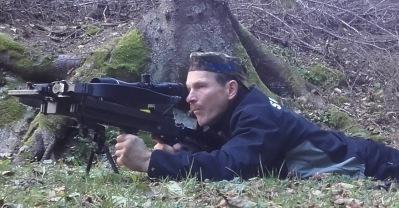 Armborst Ultimate-Sniper 440 vid ballongskytte på 307 m