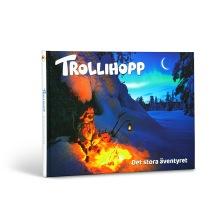 I boken Trollihopp – Det stora äventyret får ni följa med på det lilla trollet Mokiis spännande vandring genom alla årstider i den stora vildmarken i norr.