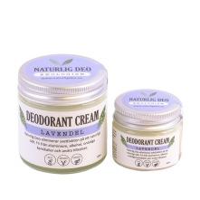 Ekologisk deodorant som är handgjord i Norsjö, med ingredienser som kokos, bikarbonat och majsstärkelse eliminerar den svettlukt och absorberar fukt på ett naturligt sätt. Vegansk, ekologiskt och unisex. Doft av lavendel.