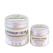 Ekologisk deodorant som är handgjord i Norsjö, med ingredienser som kokos, bikarbonat och majsstärkelse eliminerar den svettlukt och absorberar fukt på ett naturligt sätt. Vegansk, ekologiskt och unisex. Doft av  grapefrukt.