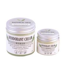 Ekologisk deodorant som är handgjord i Norsjö, med ingredienser som kokos, bikarbonat och majsstärkelse eliminerar den svettlukt och absorberar fukt på ett naturligt sätt. Vegansk, ekologiskt och unisex. Doft av kokos.
